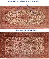 all over design rug vs central medallion pattern rug nazmiyal