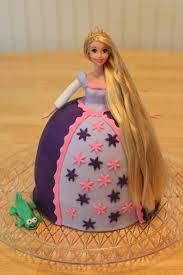 Lavender Tangled Doll Fondant Birthday Cake Pennys Food Blog