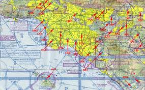 Socal Sectional Chart Pilotage Airports Of Southern California