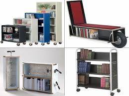 office bookshelves designs. Furniture:Stunning Portable Bookshelves Ideas On Wheels For Your Room And Home Office Designs N
