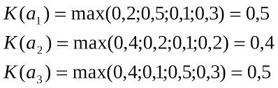 Эксперимент Реферат 4 Критерий максимакса