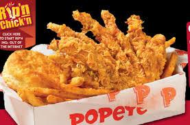 popeyes fried chicken logo. Simple Chicken Popeyes Fried Chicken Chips For Logo G