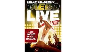 groupon billy blanks tae bo platinum collection dvd