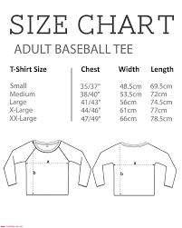 Ross Size Chart Ross The Boss Hockey Academy Mens Baseball Long Sleeved T