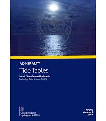 Tide Chart St Simons Island Ga 2016 Np205 Admiralty Tide Tables Att Volume 5 South China Sea And Indonesia Including Tidal Stream Tables 2019 Edition