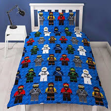 lego ninjago ninja single duvet