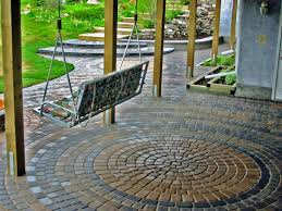 Wonderful Exterior Garden Decoration Design In Outdoor Patio Flooring Ideas  : Comely Exterior Garden Decoration Design ...
