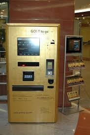 Gold Bar Vending Machine Custom Gold Vending Machine Delivers Gold Bullion And Bricks On Demand