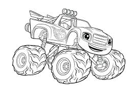 Monster Truck Coloring Pages For Toddlers Wonderful Monster Truck