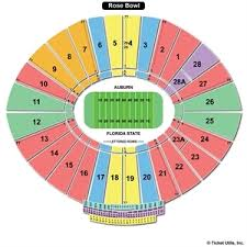 Rose Bowl Seat Online Charts Collection