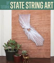 diy easy state string art diy room decor ideas by diy projects at s