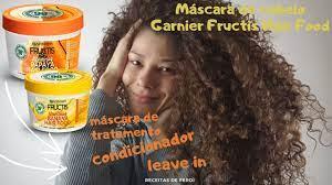 review garnier fructis hair food