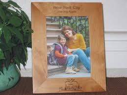 new york city picture frames personalized frame laser engraved nyc big apple