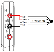 wiring diagram 4 wire rtd connection diagram rtd wiring 4 wire 3 wire rtd connection to plc at 3 Wire Pt100 Connection Diagram