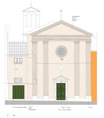 Front Church Design Gallery Of San Pellegrino Church Restoration And Outfitting