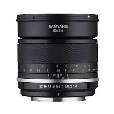 <b>Samyang MF 85mm f/1.4</b> Mark 2 Lens - Canon EF Mount