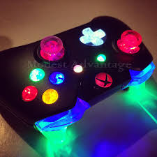 Led Light Xbox One Controller Pin By E Bluribus On Mac Xbox Gamer Xbox One Controller