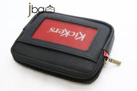 kickers c87105 a leather coin purse card t g access card holder blac