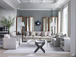 living rooms with gray walls