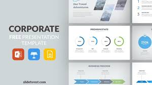 Company Presentation Template Ppt Corporate Free Powerpoint Template