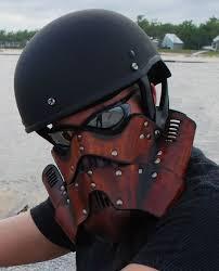 steampunk trooper motorcycle mask