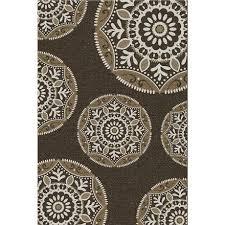 carpet art deco fiore indoor outdoor rug image 2 of 7