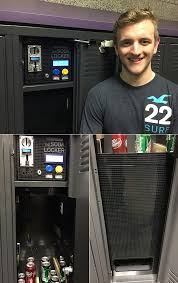 Motion Industries Vending Machines Adorable Student Builds Soda Vending Machine Inside A Locker And 48 More
