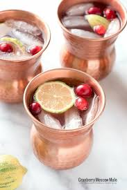 cranberry moscow mule with homemade cranberry simple syrup a refreshing fizzy ginger cranberry l recipe