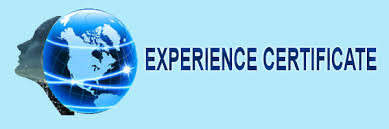 experience letter sample work experience certificate letter format sample model in