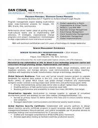 Change Management Specialist Resume Example