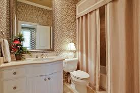 double shower curtain ideas. Gold Toned Bathroom With Luxurious Valance And Double Shower CurtainsBeautiful Inspiration Curtain Ideas 1