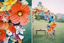 Paper Flower Archway Paper Floral Archway Photo Booth Backdrop Paper Flowers