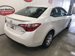 2015 Used Toyota Corolla 4DR SDN ECO CVT at East Madison Toyota ...