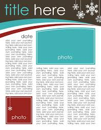 Holiday Newsletter Template 24 Free Christmas Letter Templates That You'll Love 5