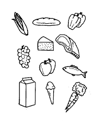 Small Picture Food for Your Health Coloring Pages Bulk Color