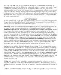 college essay example college essay example samples in word college essay example 7 samples in word pdf