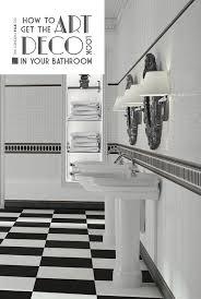 art deco bathroom. How To Get The Art Deco Look In Your Bathroom