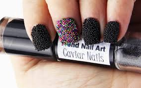 50+ Most Beautiful Caviar Nail Art Design Ideas For Trendy Girls