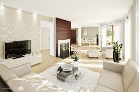 White Cozy Living Room Black Wood Floor Black Linen Glass Window - Black couches living rooms