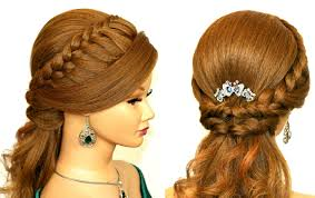 Really Long Hair Hairstyles Easy Prom Hairstyle For Medium Long Hair Youtube