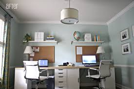 beautiful home office ideas. Home Office Design Two Workstations New Beautiful Fice For Ideas Gallery Interior Of
