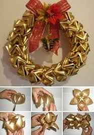 Christmas Decorations Made Out Of Plastic Bottles Plastic Bottles Recycled Into A Wreath DIY Cozy Home 60