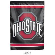wincraft sports 1 ft w x 1 5 ft h ohio state buckeyes garden flag