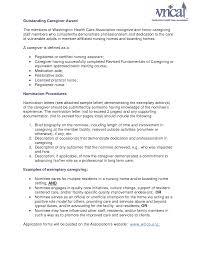 Resume For Caregiver Job Live In Caregiver Resume Canada Sales Caregiver Lewesmr 18