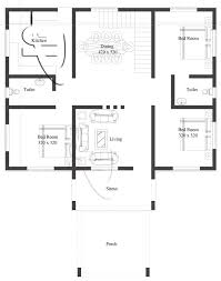 the color combination of this modern 3 bedroom one story house plan is white and dark color of brown with all the features and amenities of this design