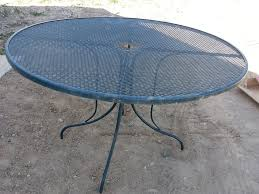 outdoor metal table. Table Before Outdoor Metal