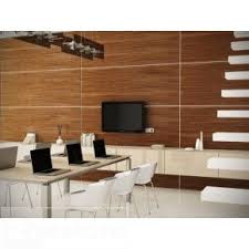 Small Picture Modern wall panels in all natural dark walnut wood veneer TV