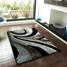 black and brown rug 2 piece set black with grey gy area rug rug pad 3