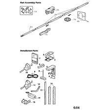 sears garage door opener partsCRAFTSMAN GARAGE DOOR OPENER Parts  Model 13953989  Sears