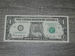 one dollar bill money santa dollar